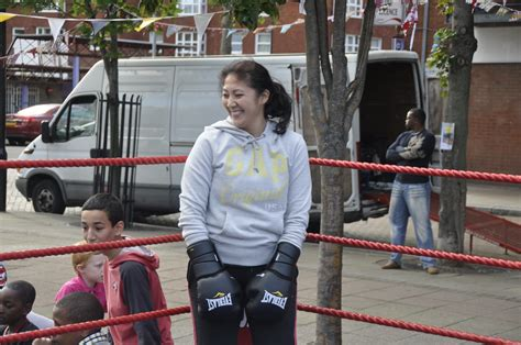 Female boxing in east London | Great Expectations is a