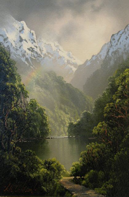 Tim Wilson - incredible painter from Queenstown, New