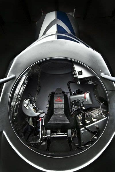 Hop Inside the Red Bull Stratos Space-Jump Capsule