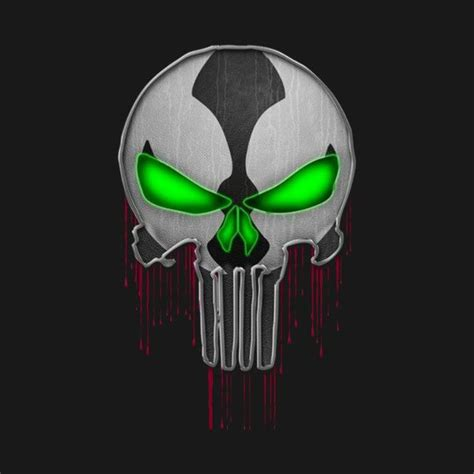 Check out this awesome 'the+punisher+-+spawn' design on