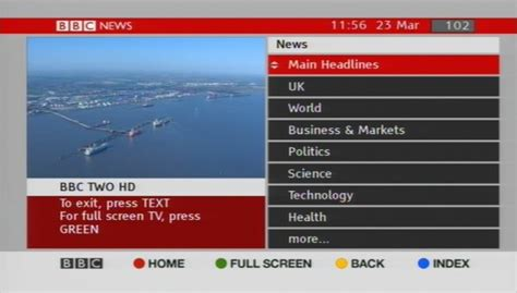 BBC Red Button – Astra 2