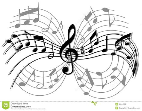 Abstract Musical Composition Royalty Free Stock Images