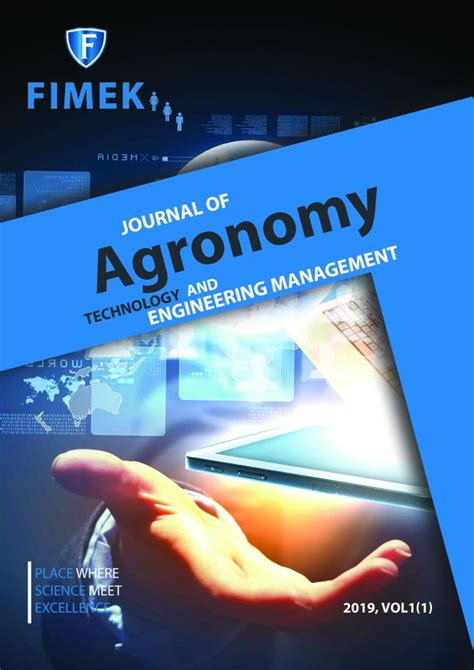 Journal of Agronomy, Technology and Engineering Management