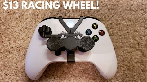 Xbox One Mini Controller Racing Wheel!! (Become a beast at