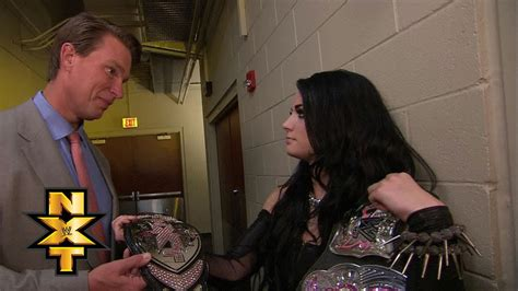 Paige relinquishes the NXT Women's Championship: WWE NXT