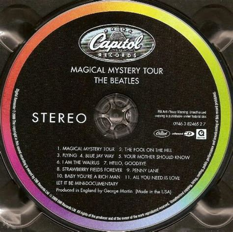 Beatles LP Magical Mystery Tour (2012) Remaster) LP/RECORD