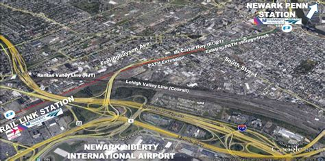PATH Expansion Would Provide Direct Access Between Newark