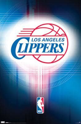 Los Angeles Clippers NBA Team Logo Poster - Costacos