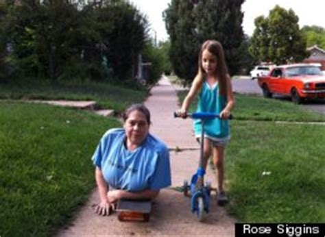 Rose Siggins, Mom With No Lower Body, Inspires Others On