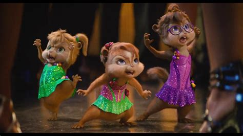 The Chipmunks have a competition about dancing with the