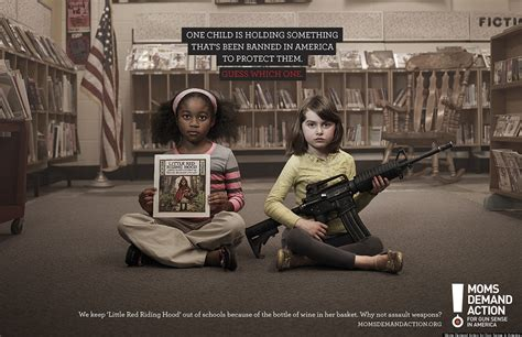 Gun Control PSAs By Moms Demand Action Are Striking And