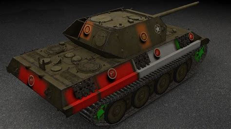 WOTINFO - Weak points and vehicle data of Panther/M10