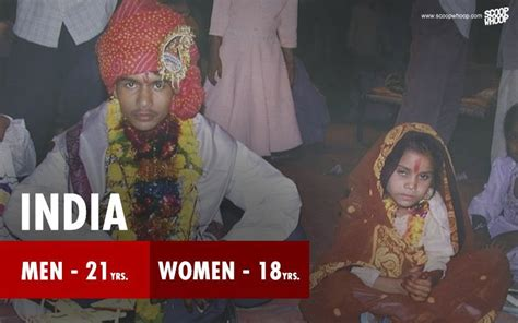 These Posters Show The Minimum Marriageable Age In