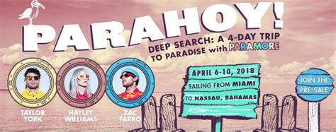 Paramore Just Announced The Return Of 'Parahoy!' For 2018