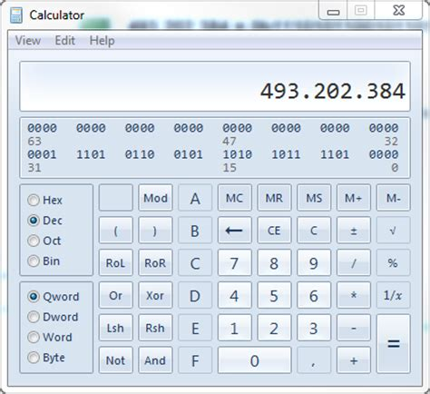 Converting Between Base 2, 10 and 16 in T-SQL | Mark S