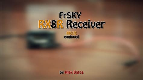 FrSKY RX8R redundancy bus receiver review - YouTube