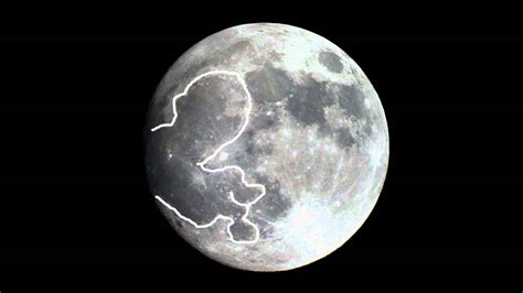I HAVE DISCOVERED A NEW SIGN OF ALLAH ON THE MOON, THE