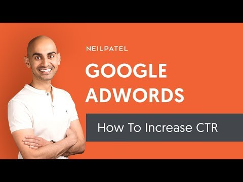 AdWords Click-Through Rate: Get More Traffic at a Lower
