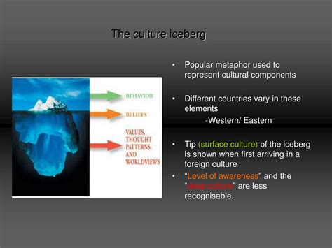 PPT - The Culture Iceberg PowerPoint Presentation - ID:260604