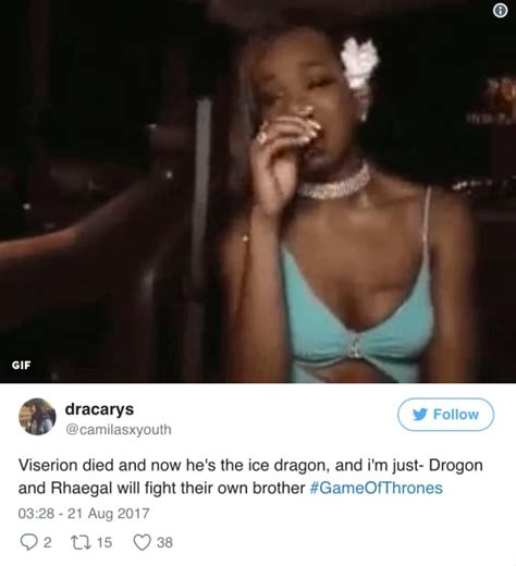 Viserion Dies on Game of Thrones: The Internet Reacts