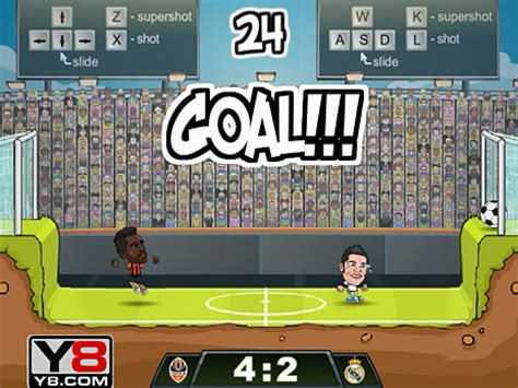 Play Football Legends 2016 game online - Y8