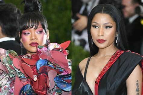 Did Rihanna Shade Nicki Minaj's Met Gala Outfit On