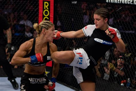 CYBORG SCORES FIRST-ROUND TKO OVER CARANO IN HISTORIC