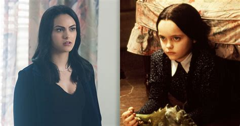 """Camila Mendes Teases Veronica Lodge's """"Wednesday Addams"""
