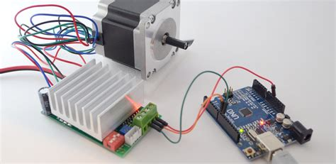 Wiring and running TB6600 stepper driver with Arduino