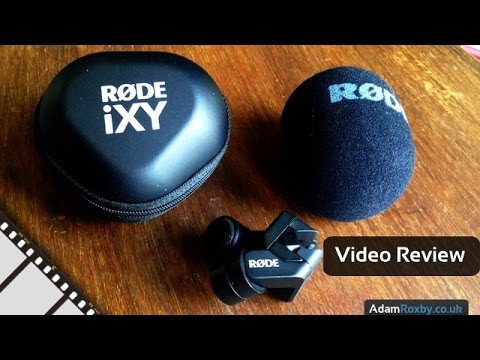 Rode iXY Stereo Mic Review
