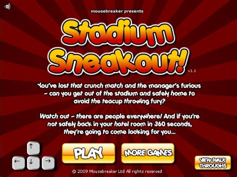 Stadium Sneakout Hacked (Cheats) - Hacked Free Games