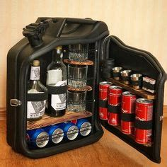 Jack Daniels Jerry Can Mini Bar (BLUE) Grey Goose Vodka