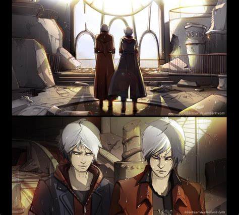 Dante and Nero: where Vergil is dead by Kibbitzer on
