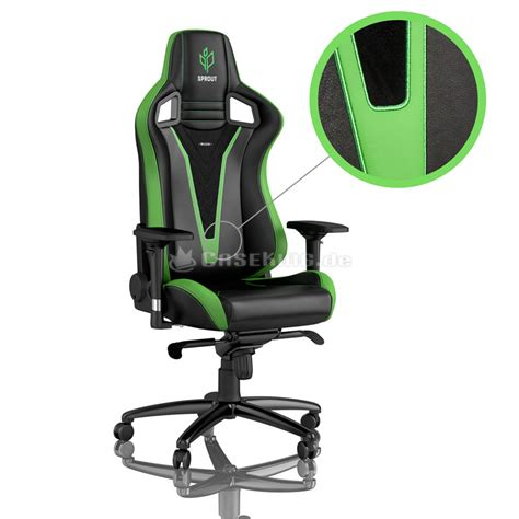 noblechairs EPIC Gaming Stuhl - Sprout Edition - schwa…