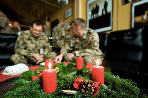 Weihnachten in Afghanistan: Friedensengel in Uniform