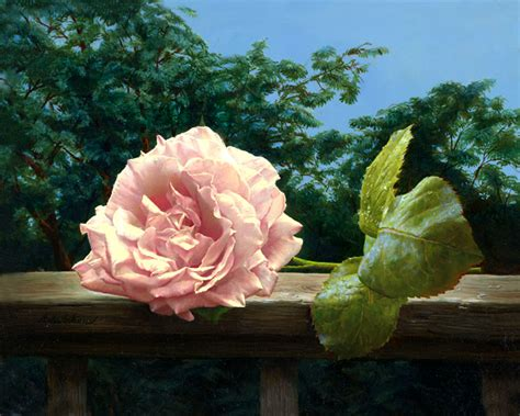 15 Beautiful and Realistic Flower Paintings | Templates