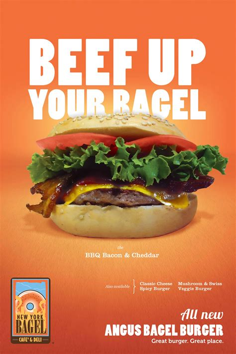NY Bagel Cafe & Deli Launches Beef Up Your Bagel Campaign