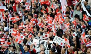 Rugby World Cup opens with biggest shock in game's history