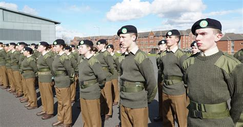 Teen army recruits end up in tears as they're are pushed
