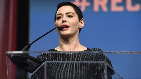 Rose McGowan Continues to Speak Out Against Sexual