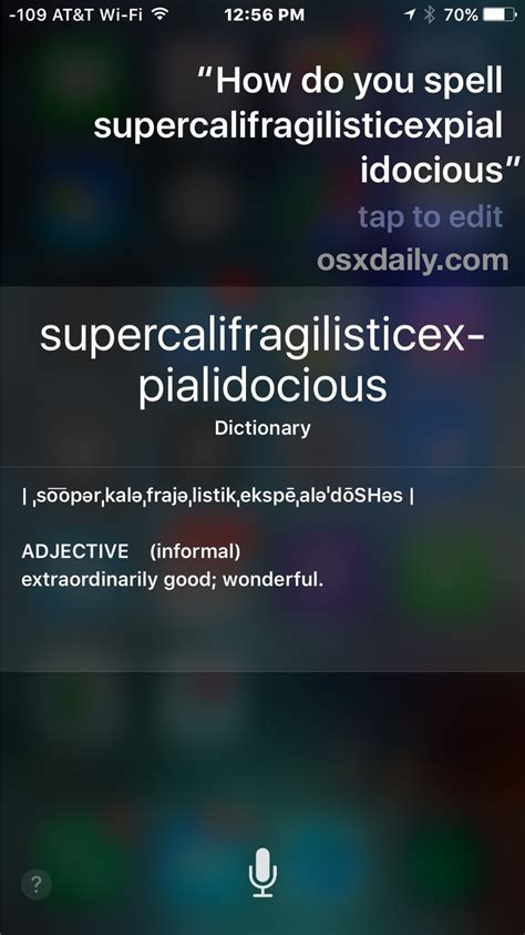 Can't Spell? Ask Siri to Spell a Word on iPhone, iPad, Mac