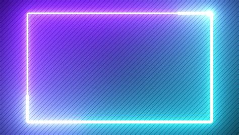 Abstract Neon Glow Color 4k Stock Footage Video (100%