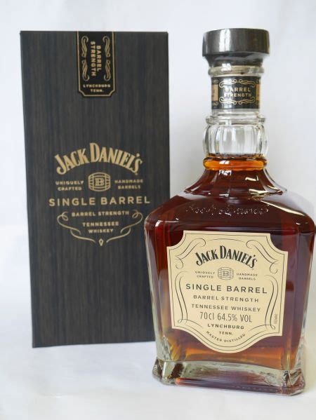 Jack Daniels Single Barrel Strength 64,5% 0,7l Bourbon