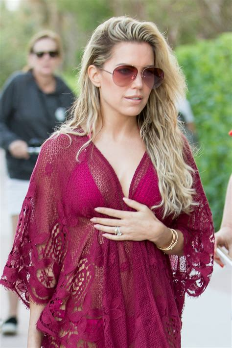 Sylvie Meis Hot in a Pink Bikini in Miami