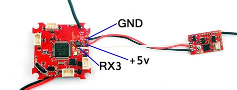 How to connect external Receiver to the Crazybee F3