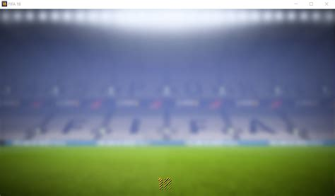 FIFA 18 STUCK AFTER WELCOME SCREEN (BACKGROUND STADIUM