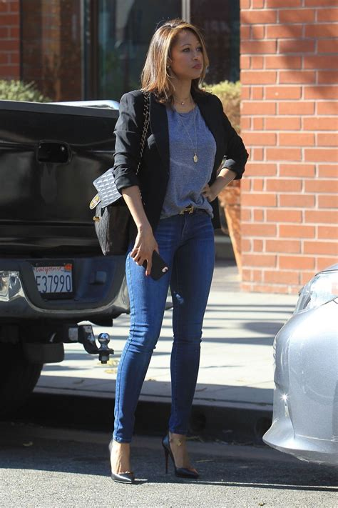 Stacey Dash Shopping in Beverly Hills 01/31/2018