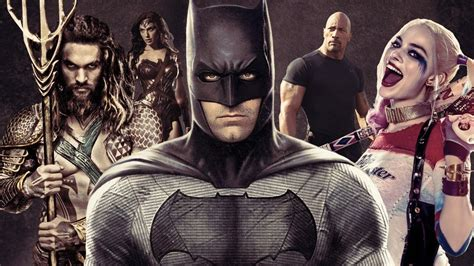 All the Heroes and Villains of the DC Movie Extended