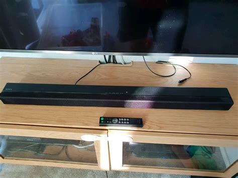 Sony HT-CT180 Sound bar and subwoofer set Bluetooth top of