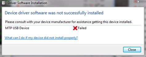 MTP USB Device Failed in Windows 7 [Solved] - Driver Easy